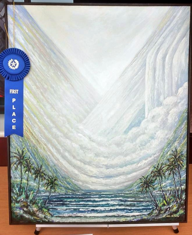 Art In Paradise D Exhibition Hall : Artist dennis mcgeary